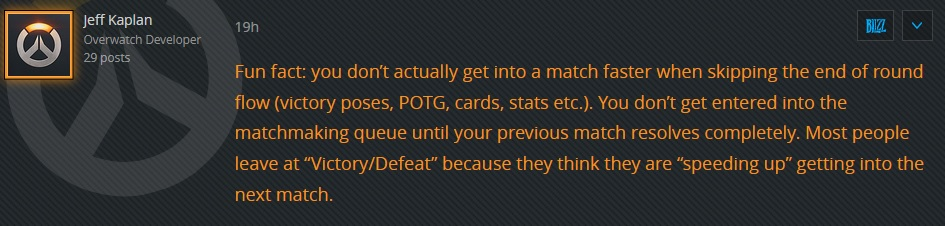 Overwatch Kaplan Forum Quote Funfact Time