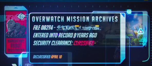 Overwatch Uprising Blackwatch Classified