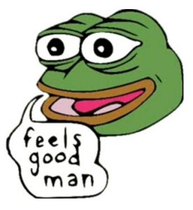 Pepe Meme Feeld Good Man