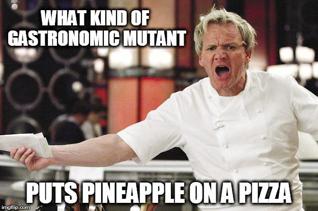 Pineapple Pizza Meme 1
