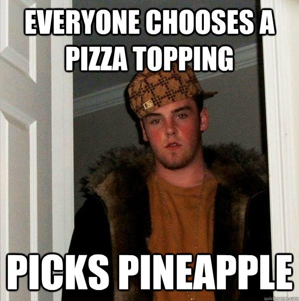 Pineapple Pizza Meme 2