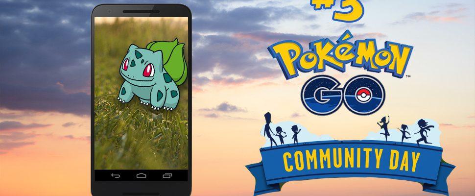 Pokémon GO Community Day im März – Alles, was Ihr dazu wissen müsst