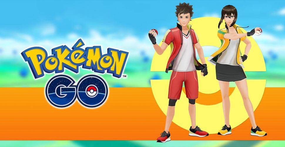 Pokémon GO Arenaleiter Outfits