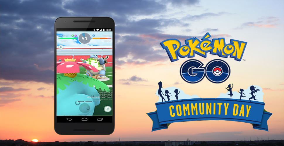 Pokémon GO Community Day Titel Bisa