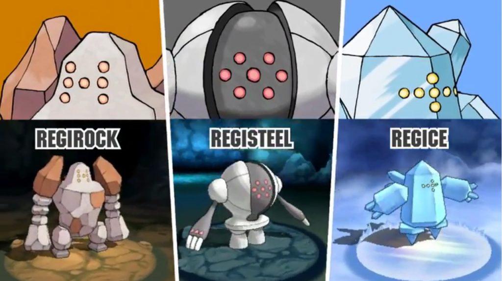 Pokémon GO Regi Trio