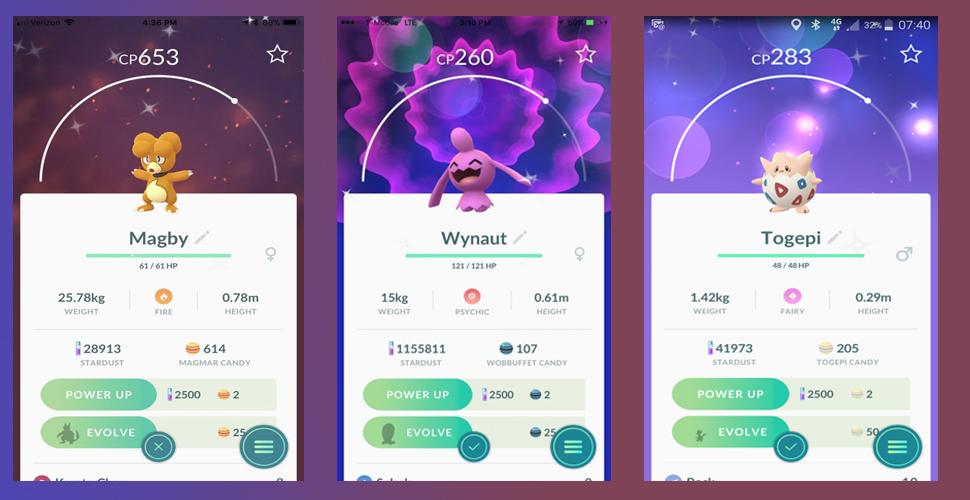 Pokémon GO Shinys Oster Event