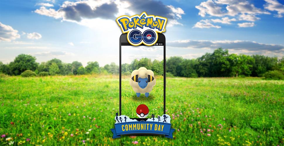 Pokémon GO Voltilamm Comm Day