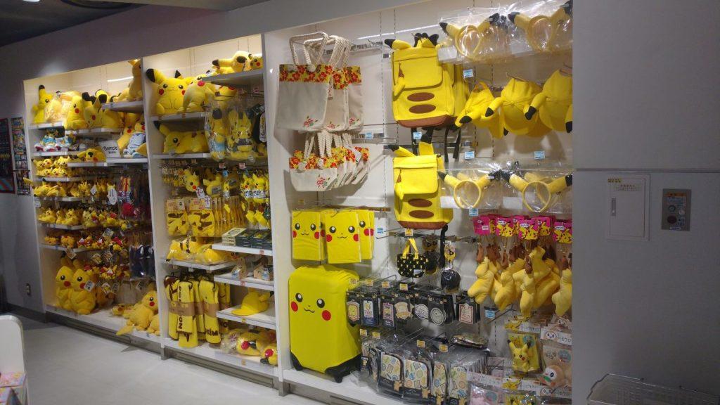 Pokemon Center Mega Tokyo Japan Pikachu Merch
