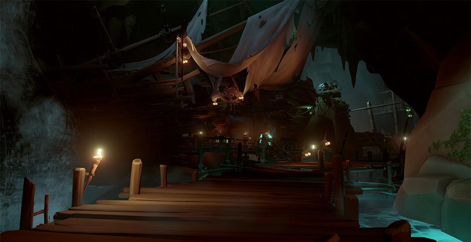 Sea of Thieves legendäre Taverne