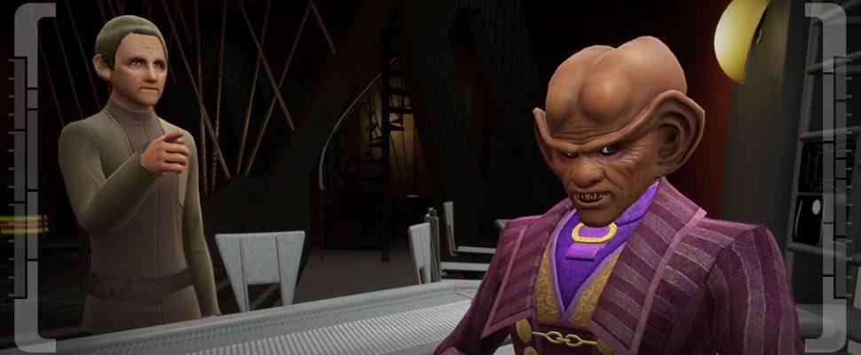 Star Trek Online lässt euch in den Spuren von Odo aus DS-9 wandeln