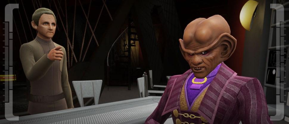 Star Trek Online Odo und Quark