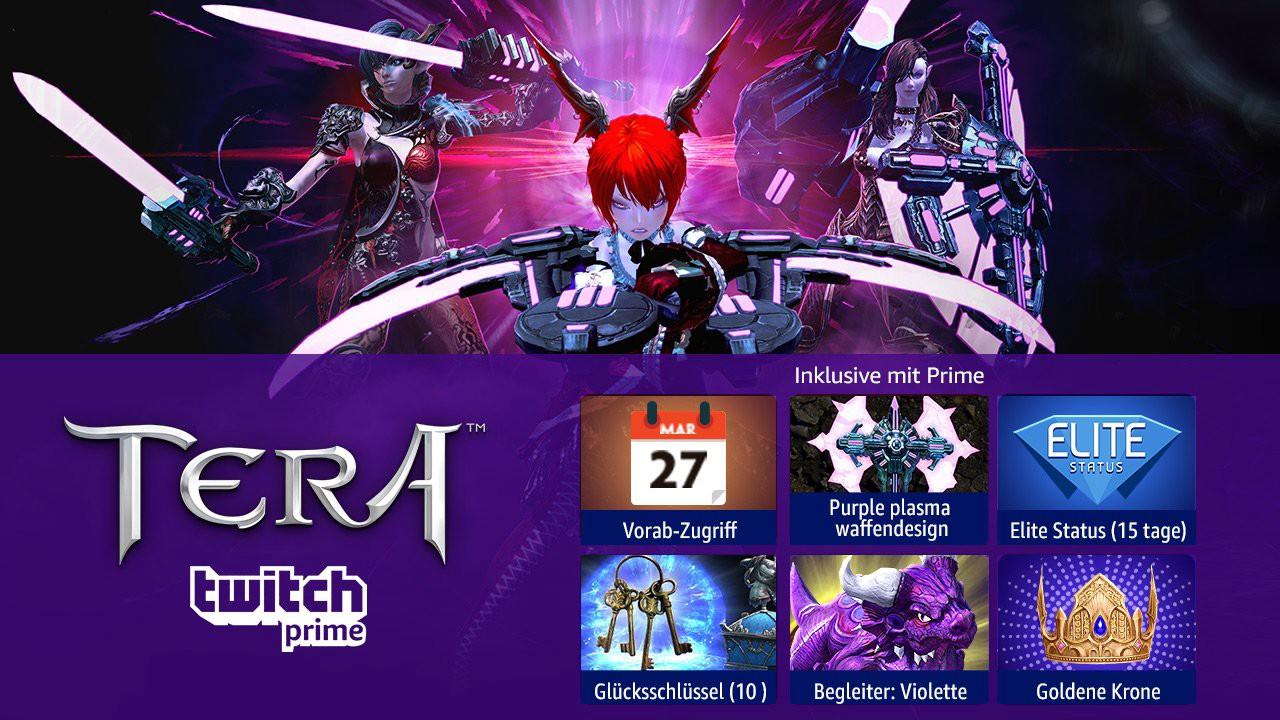 TERA Twitch Prime