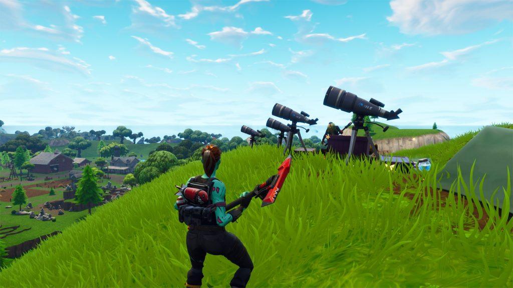 Teleskop-Fortnite
