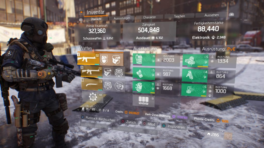 The Division – Stürmer PvE