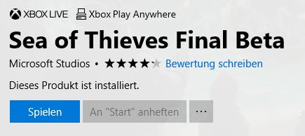 Sea of Thieves Final Beta