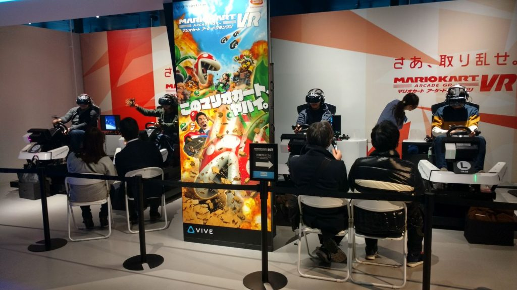 VR Zone Shinjuku Mario Kart VR