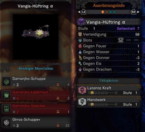 Vangis-Hüftring-Alpha