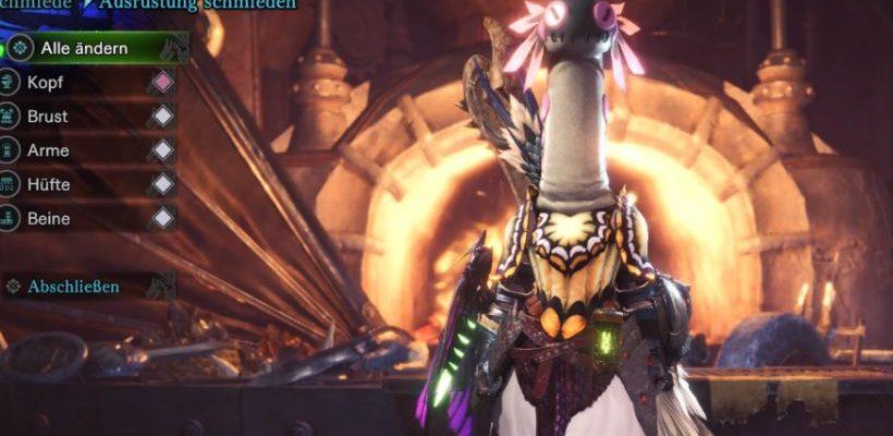 In Monster Hunter World kannst du jetzt wie ein Wackelwurm aussehen!