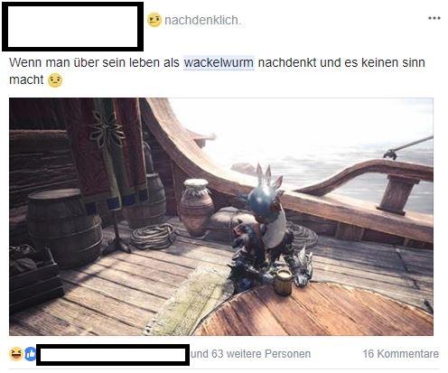 Wackelwurm-Leben