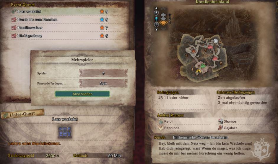 Wackelwurm-quest