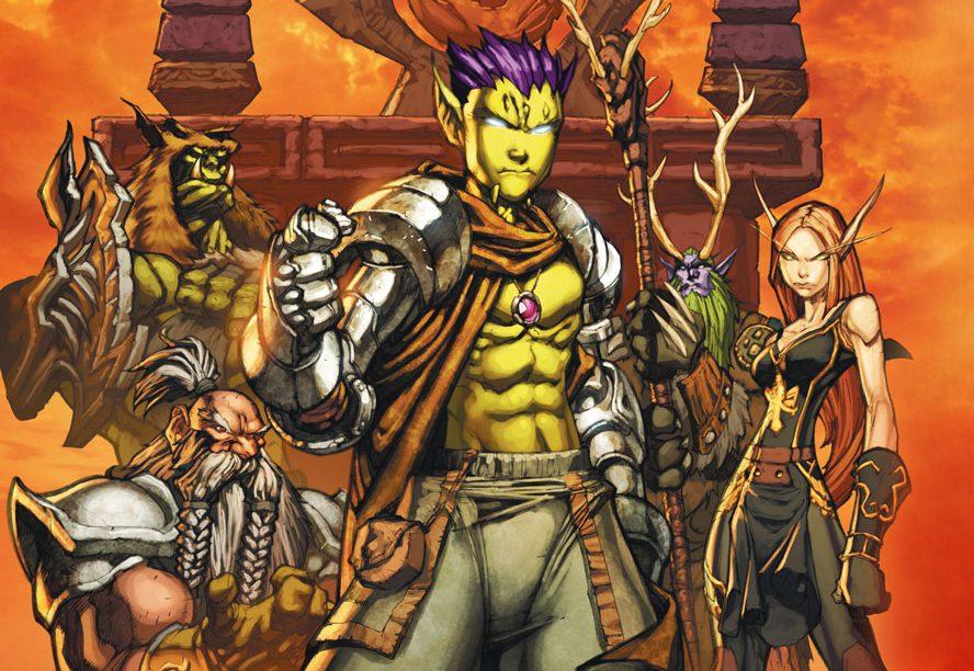 Warcraft Medan Comic title