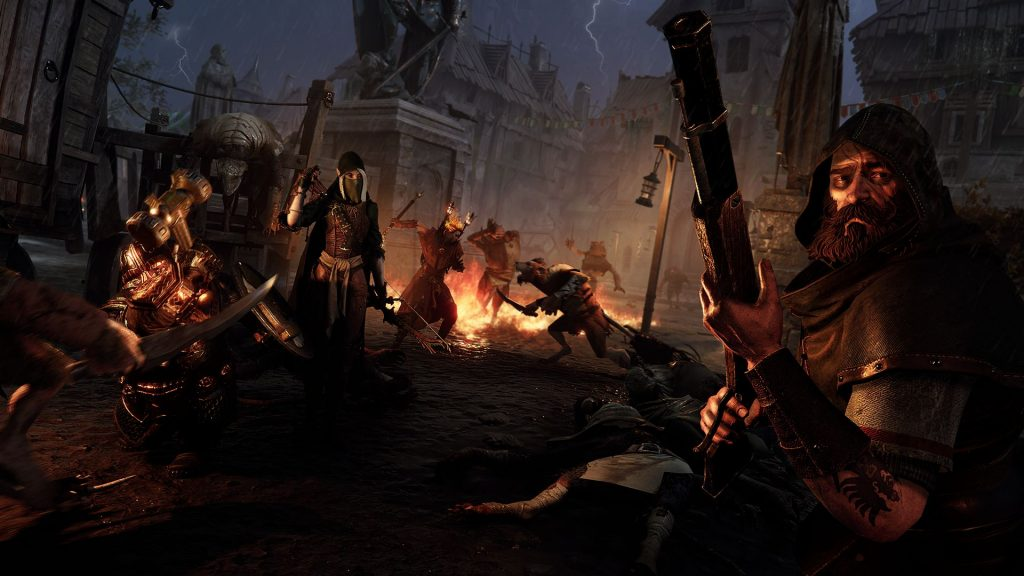 Warhammer Vermintide 2 All Clases ambiente shot