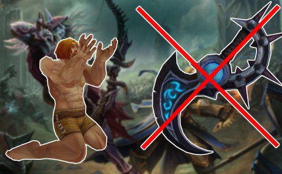 WoW Artifact Weapon begging man title