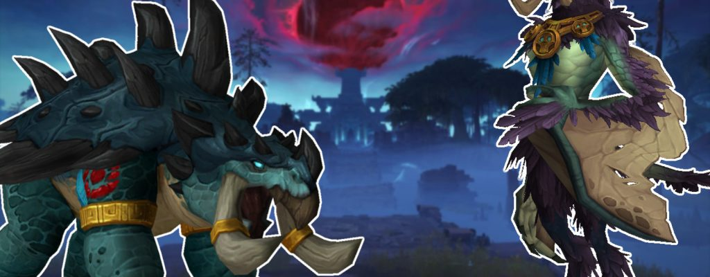 Druidenformen der Zandalari in WoW: Battle for Azeroth sind Dinos!