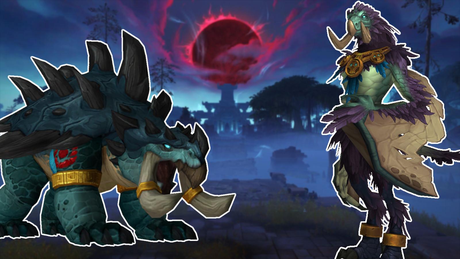 WoW Battle for Azeroth Troll Formen Druide