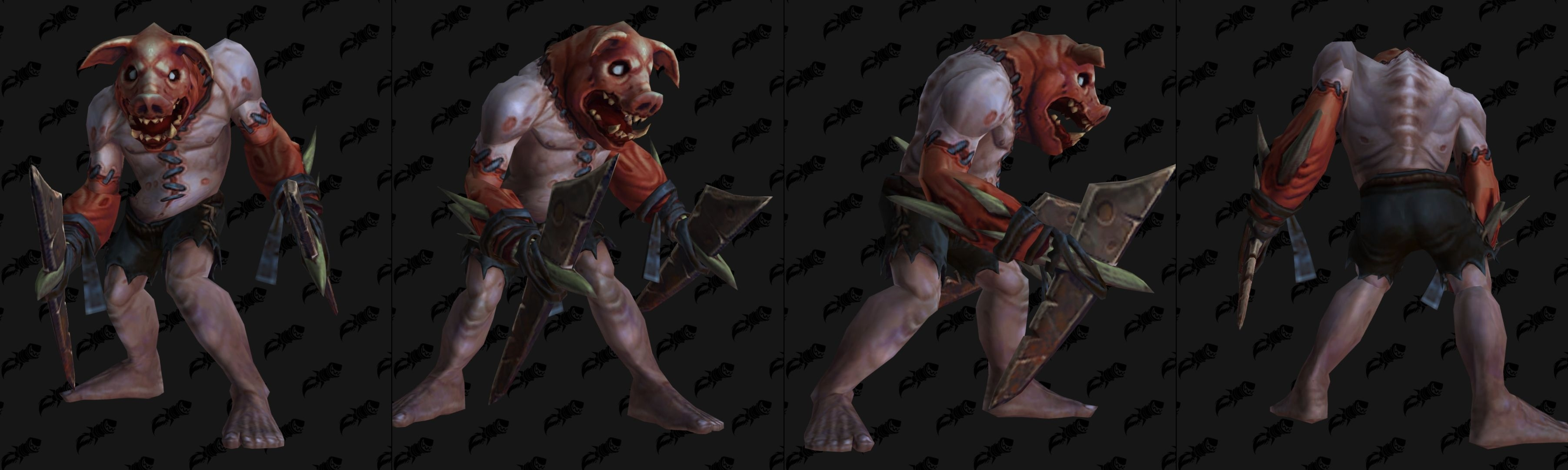 WoW BfA Manbearpig
