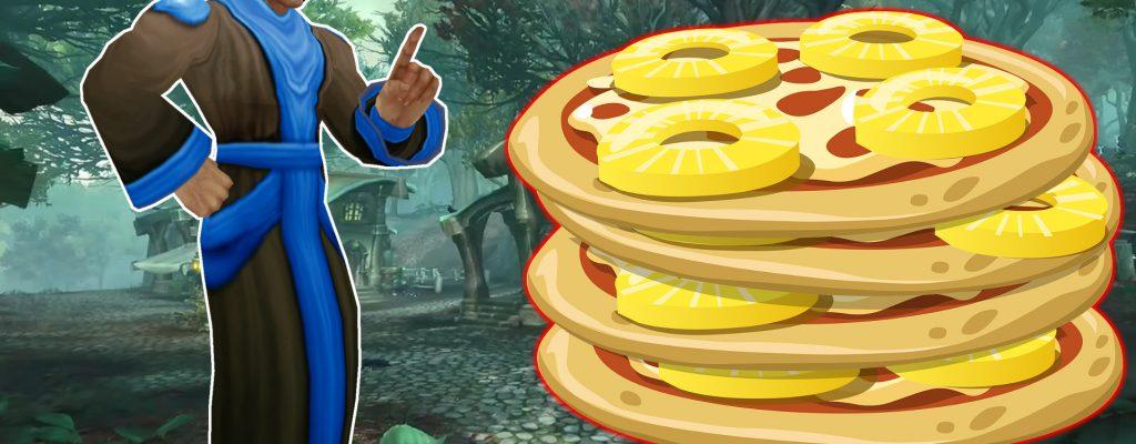 """Kurios: WoW bezieht Stellung zur """"Ananas-Pizza""""-Debatte"""