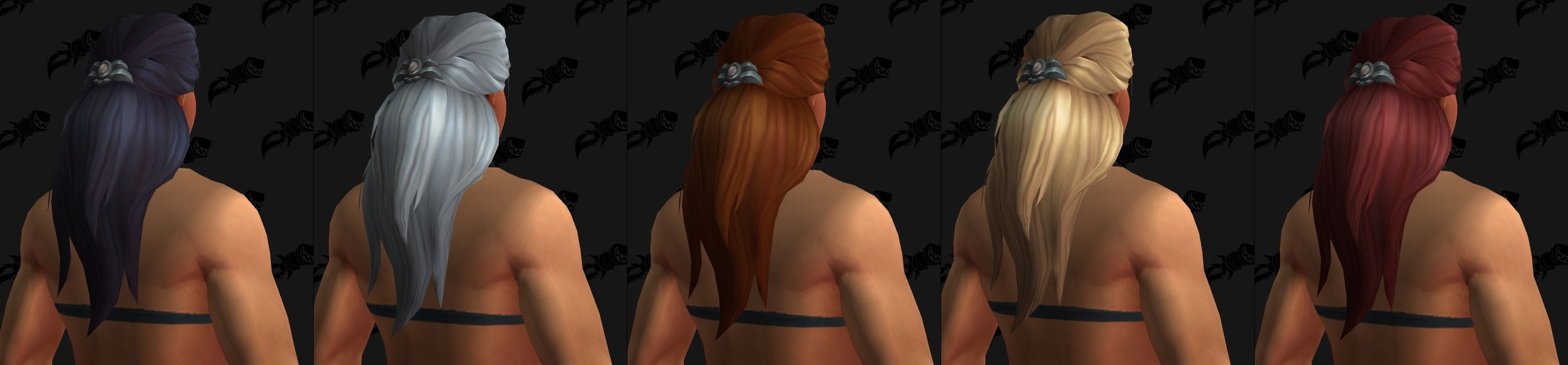 WoW Kul Tiras Female Haarfarben