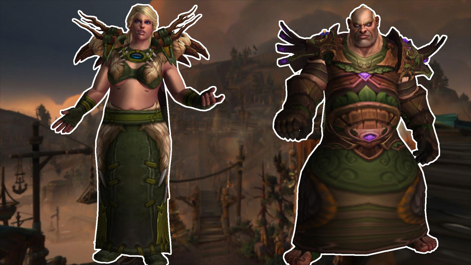 WoW Kul Tiras Male Female title