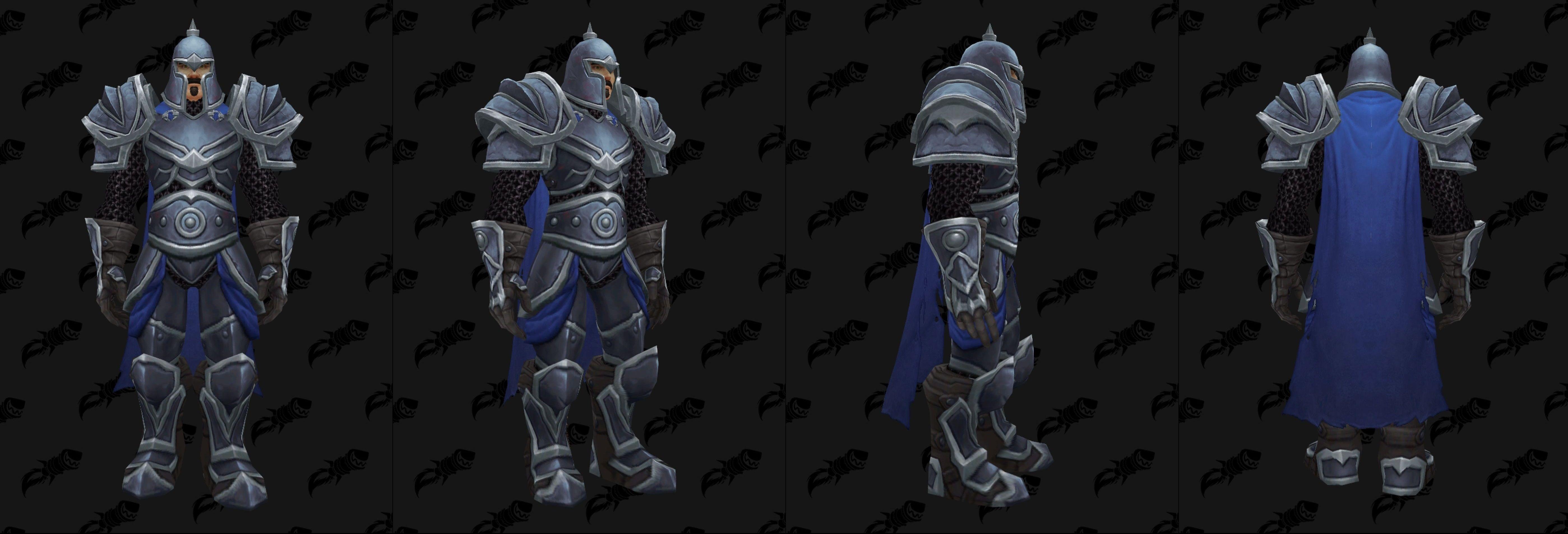 WoW Warfront Armor Human Set 1
