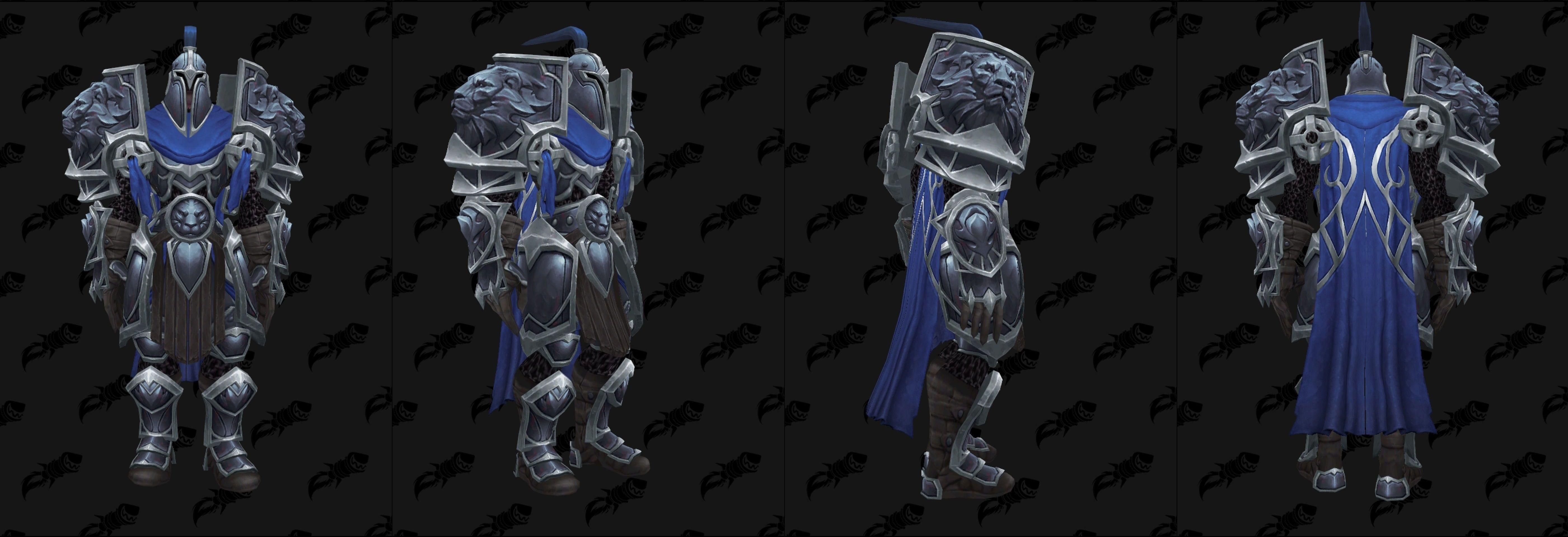 WoW Warfront Armor Human Set 3