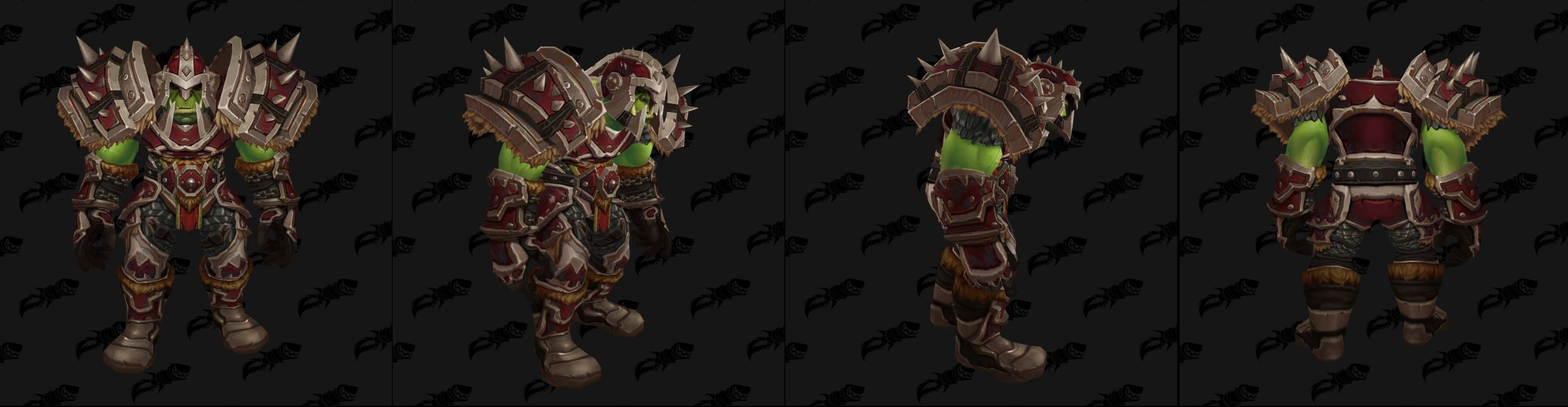WoW Warfront Armor Orc Set 1