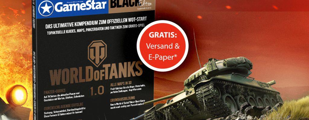 Neues GameStar-Sonderheft zu World of Tanks 1.0 mit allen Infos