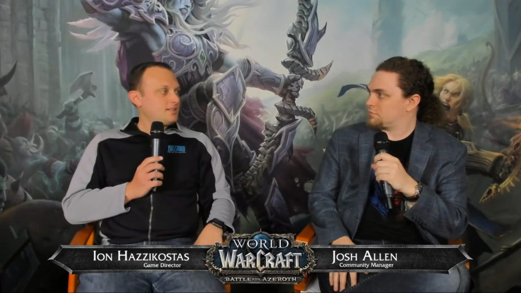 World of Warcraft Battle for Azeroth Allied Races Q&A Ion Hazzikostas and Josh Allen