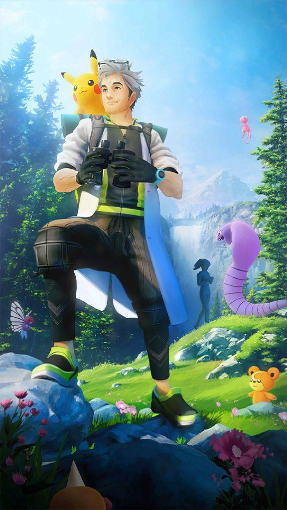 Pokémon GO Willow Ladebildschirm