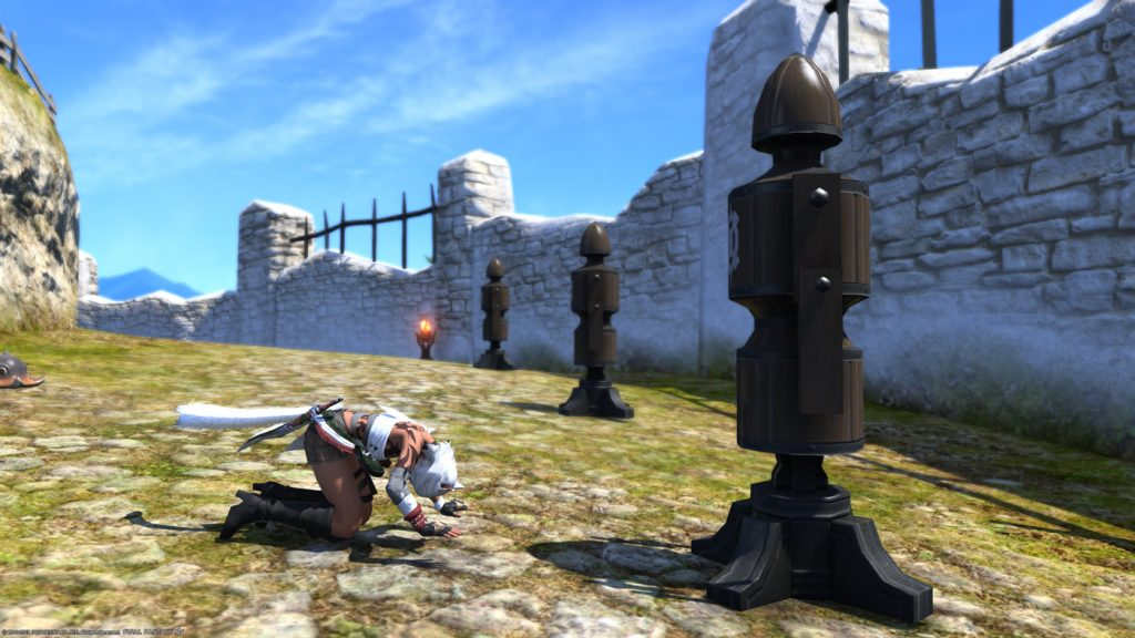 final fantasy xiv trainings dummy