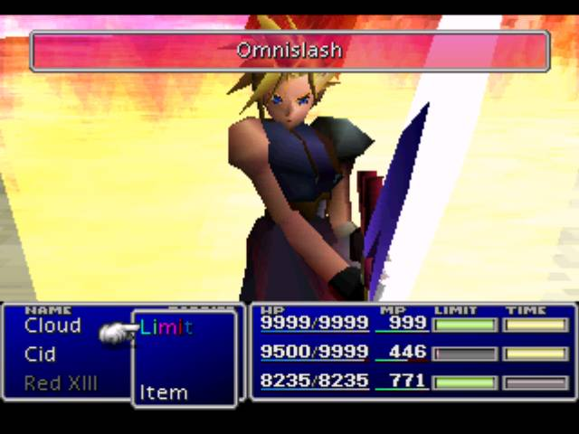 ffvii limit break