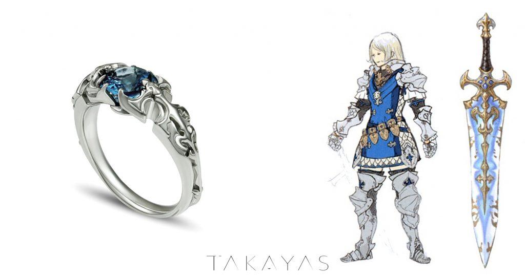 final fantasy xiv takayas paladin ring inspriration