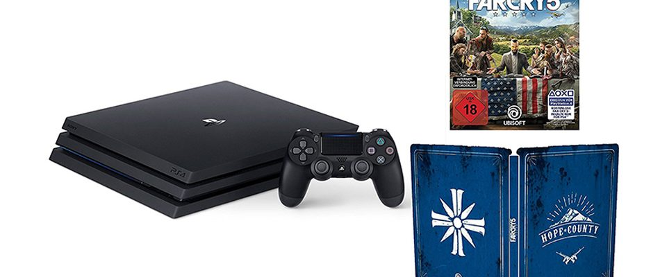 Amazon Angebote des Tages – PS4 Pro Bundle mit Far Cry 5 inklusive Steelbook