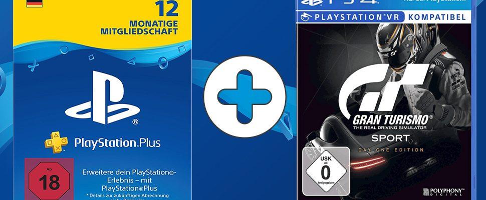 PS Plus 12 Monate im Bundle mit Gran Turismo Sport – PS4-Angebote bei MediaMarkt