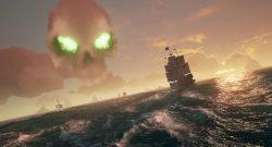 Sea of Thieves Totenkopf-Wolke