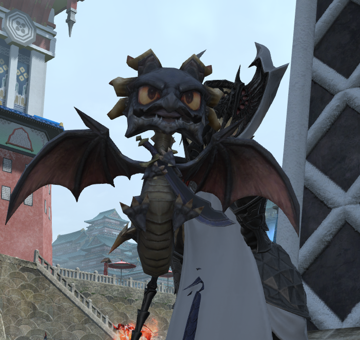 final fantasy xiv eureka mini-fafnir
