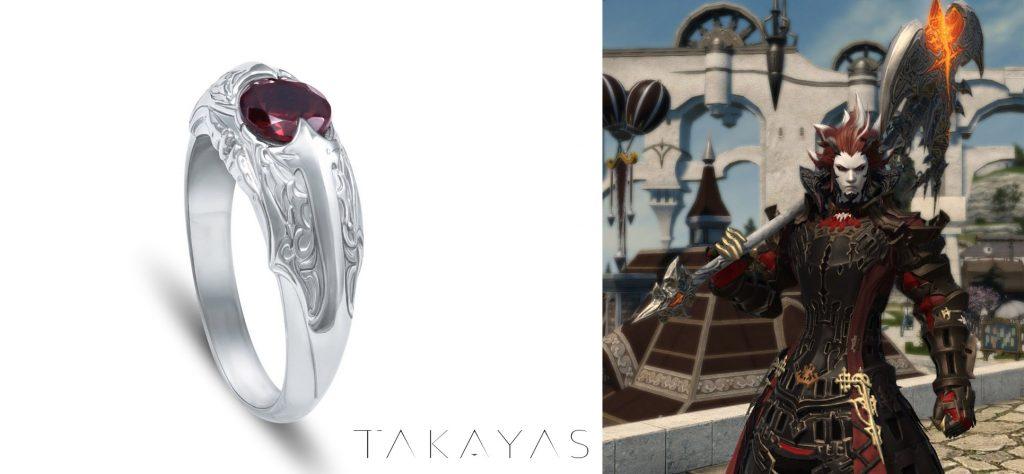 final tansy xiv takayas krieger ring inspirtation