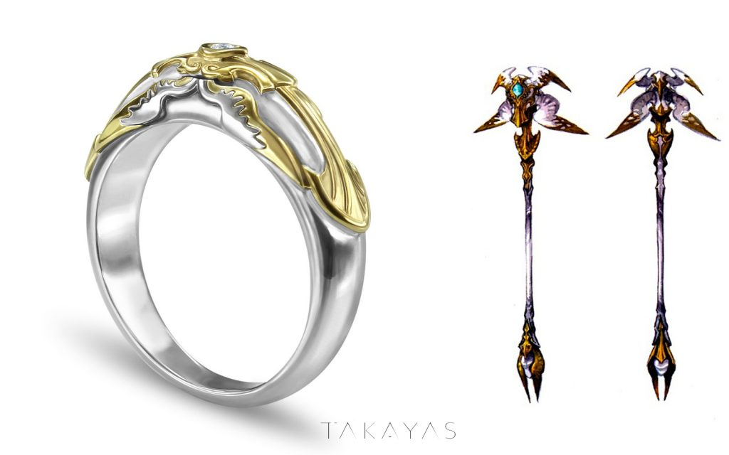 final fantasy xiv takayas weißmagier ring