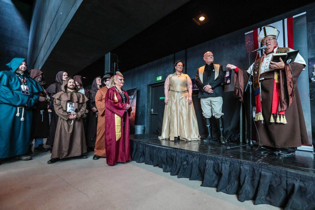 EVE Online Hochzeit Fanfest 2018
