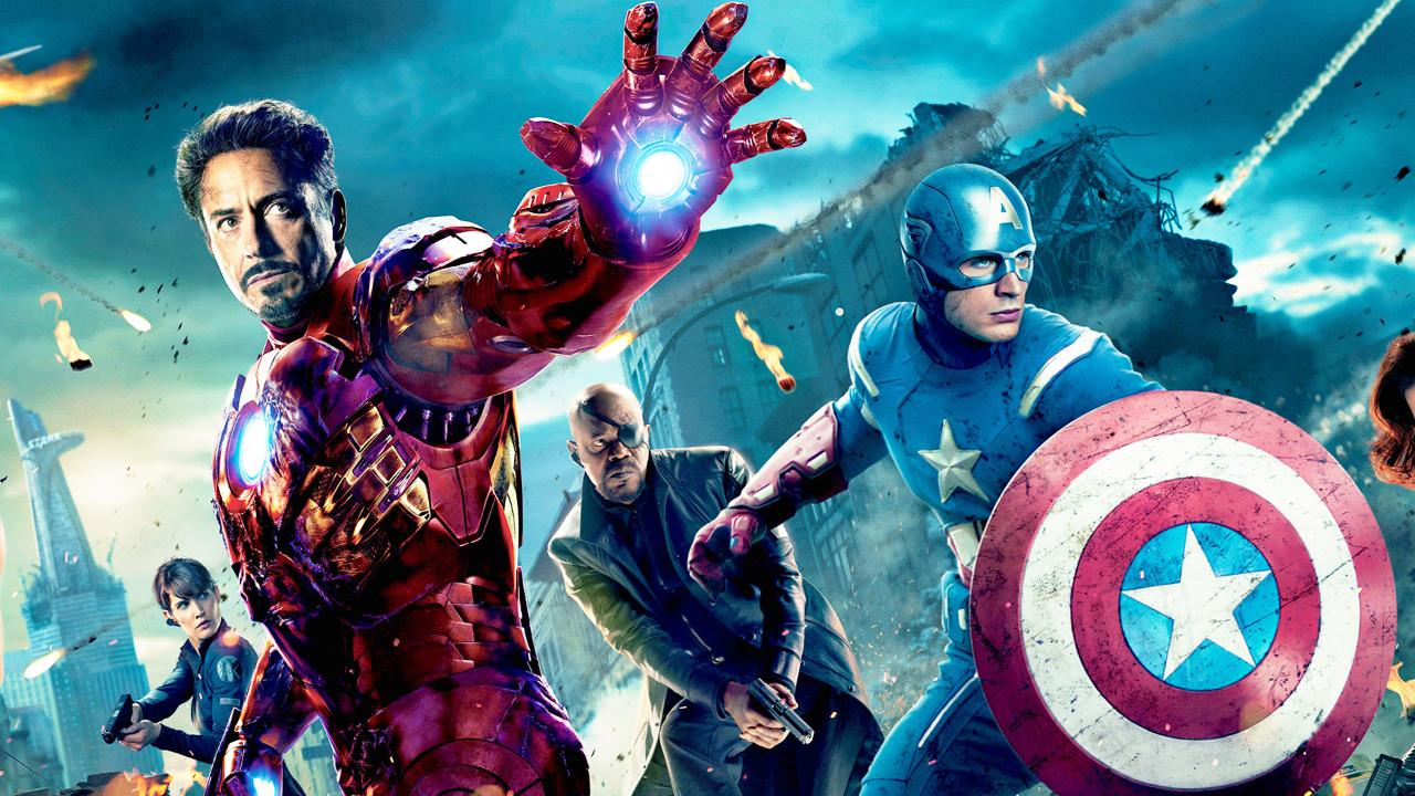 avengers iron man captain